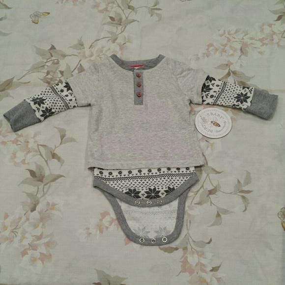 Burts Bees Baby Clothes Best Burt's Bees Baby One Pieces Burts Bees Baby Bodysuit Nwt Poshmark